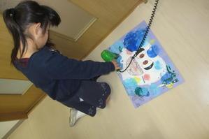 第3回絵画教室の様子です -