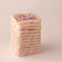 平山りえキャンドル作品展『編む』 - くわみつの和み時間