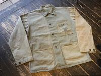 "40's U.S.M.C. P-41 HBT jacket ""CRAZY Pattern"" - BUTTON UP clothing"