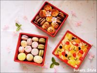 お花見🌸お重スウィーツ - Bakers Style