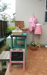 自宅ショップのキャバンヌ ドゥ リン、終了いたしました。 - 子ども服と大人服 KONO'N