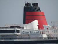 Queen Elizabeth 初入港! - タビノイロドリ