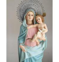 柱の聖母 ピラールの聖母マリア 62.5cm   /G242 - Glicinia 古道具店