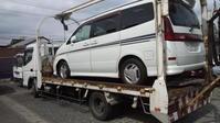 韮崎市からパンクした不動車をレッカー車で廃車の引き取りしました。 - 廃車戦隊引き取りレンジャー