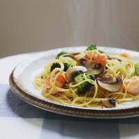今日のお昼ごはん〜エビとブロッコリーのパスタ〜 - 料理教室 あきさんち