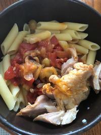 チキンと豆のトマトスープ - 道草日和。