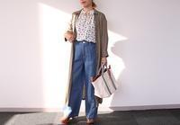 PH:ロングシャツ×柄ブラウスでトレンドコーデ - クロスプラスブログ