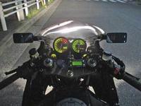 N尾っち号 GPZ900Rニンジャの車検取得や仕様変更が完成ーー!!(^^♪ - フロントロウのGPZ900Rニンジャ旋回性向上計画!