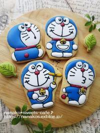 いろいろドラえもん*アイシングクッキー - nanako*sweets-cafe♪