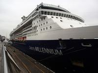 今日、船内見学してきましたceleblity millennium - クルーズとパリ旅行