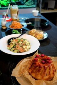 クグロフ ~Cranberry brown~ & Flatbread(&ピタパン) - KuriSalo 天然酵母ちいさなパン教室と日々の暮らしの事