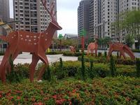 今朝のお散歩で台中市政府へ。なぜここに骸骨(ガイコツ)が!? - メイフェの幸せ&美味しいいっぱい~in 台湾
