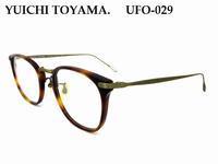 【YUICHI TOYAMA.】イベント期間限定入荷アイテムのご紹介① - 自由が丘にあるフレンチテイスト眼鏡店ボズューブログ