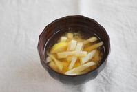 4/26筍のお味噌汁 - 「あなたに似た花。」