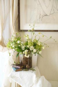 4月のレッスン根付きスズランを使って -  La Fleur