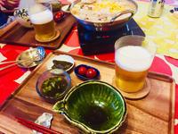 野菜を食べるチャンポン鍋とミニトマトの糠漬け! - ワタシの呑日記