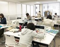 【ヴォーグ学園東京校バッグ講座】巾着ランチトートと制作中の布合わせ♪ - neige+ 手作りのある暮らし