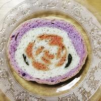 ヴィーガンイラストパン薔薇パン - 好食好日