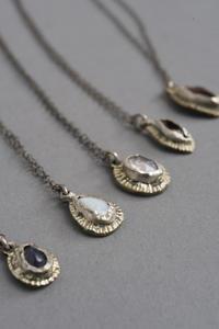 Franny E Fine JewelryBig Stone Necklace - un.regard.moderne