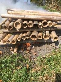 洗面所その8。竹炭作りました! - 風のいろ