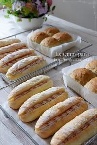 """""""ふんわり甘ーいパン"""" を目の前にすると、みんな幸せ顏になるのですね♪ - 大阪 堺市 堺東 パン教室 """" 大人女性のためのワンランク上の本格パン作り """"  - ル・タン・ピュール -"""