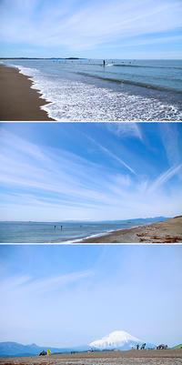 2019/04/28(SUN) 澄んだ空気の海辺で........。 - SURF RESEARCH