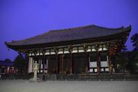 興福寺東金堂 - ブルーアワーの街の情景