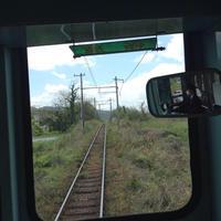 滋賀県の近江鉄道で最も好きな区間、鳥居本〜彦根の風景の移り変わりにはカタルシスを感じる。 - 線路マニアでアコースティックなギタリスト竹内いちろ@三重/四日市