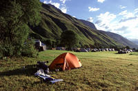Furkapass 2431m - Bicycle Touring Photo Gallery.