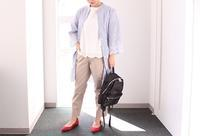 DECOY:ストライプ刺繍シリーズ②ーシャツコーデー - クロスプラスブログ