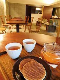 友達とお気に入りカフェへ - eri-quilt日記3