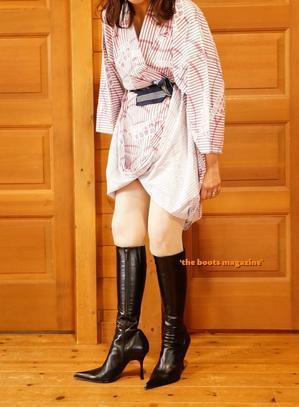 浴衣にBoots! - `the boots magazine`
