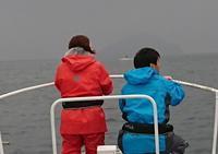 仲良し夫婦の初挑戦タイラバゲーム - 五島列島 遊漁船 MANA 釣果情報 ヒラマサ