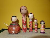 木の香スナップ'19❻ - こけしと手織りの小部屋