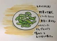 野菜欠乏 - 一天一画   Yuki Goto