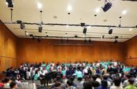 鶴岡土曜会混声合唱団スプリングコンサート - 「 ボ ♪ ボ ♪ 僕らは釣れない中年団 ♪ 」
