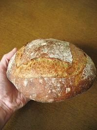 平成最後のいつものカンパーニュ - slow life,bread life