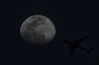 平成最後の「月とヒコーキ」 - ギャラリー☆花鳥風翼II