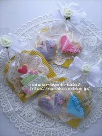 Weddingのプチギフト♡ 続き - nanako*sweets-cafe♪