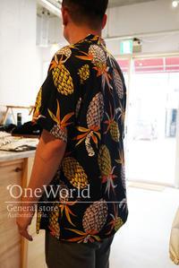 Styles Wackomaria ハワイアンシャツ - 'One World   /God bless you