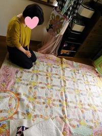 eri-quilt教室・新しい生徒さん - eri-quilt日記3