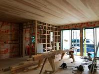 smileの家進捗状況5 - 国産材・県産材でつくる木の住まいの設計 FRONTdesign  設計blog