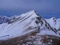唐松岳 残雪と展望を楽しんで2019.4.28(日) - 心のまま、足の向くまま・・・
