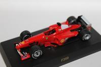 1/64 Kyosho Ferrari F1 F399 1999 - 1/87 SCHUCO & 1/64 KYOSHO ミニカーコレクション byまさーる