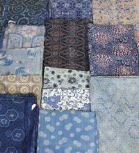 古布木綿型染Japanese Antique Textile Katazome Cotton - 京都から古布のご紹介