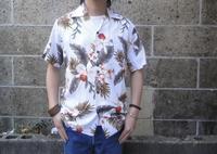 新入荷情報 TWO PALMS (トゥーパームス) S/S Hawaiian Shirt / Rayon HAWAIIAN ORCHID ホワイトが入荷しました - セレクトショップ REGULAR (レギュラー仙台) | ブログ