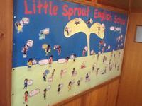 新しい壁面が出来ました! - Little Sprout English School