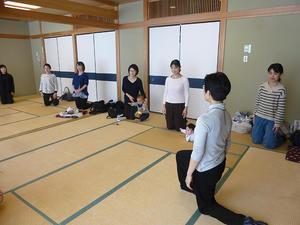産前産後のための骨盤体操教室 -