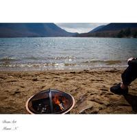 湖畔にて。 - BEAN ART