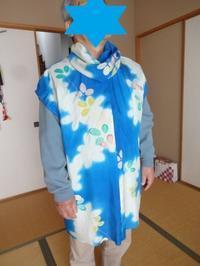 夏用の振袖でチュニック作って夫に着せてみた。 - がちゃぴん秀子の日記